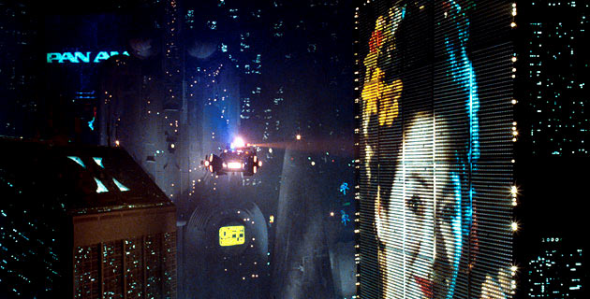 Blade Runner Advertising Shot