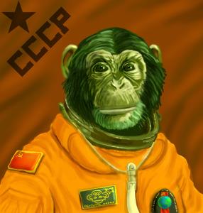 Monkey Cosmonaut