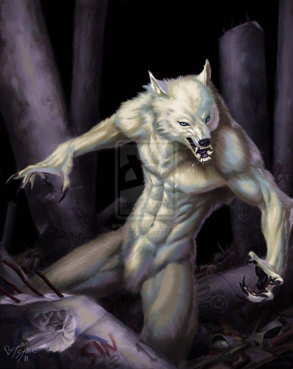 Bodybuilder Werewolf