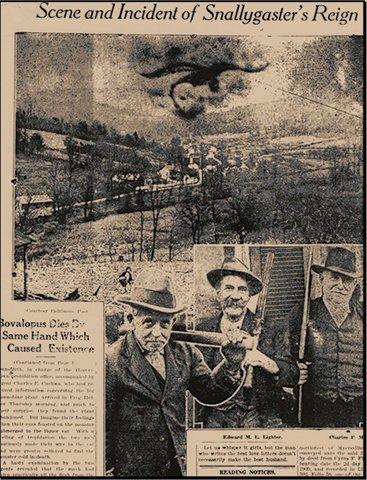 Snallygaster Newspaper Hoax