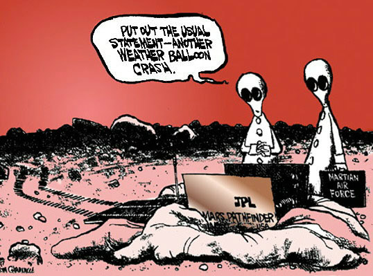 Roswell cartoon