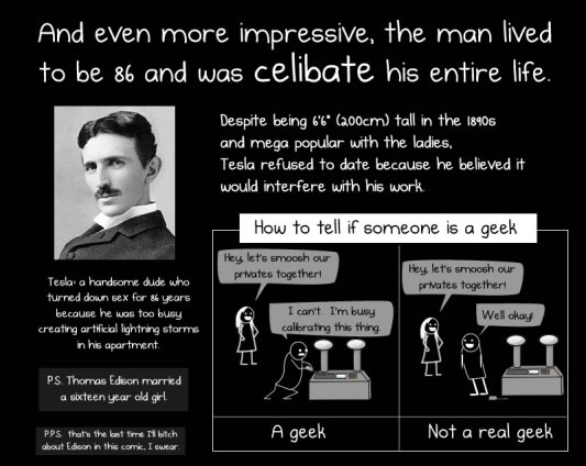 Tesla Celibate